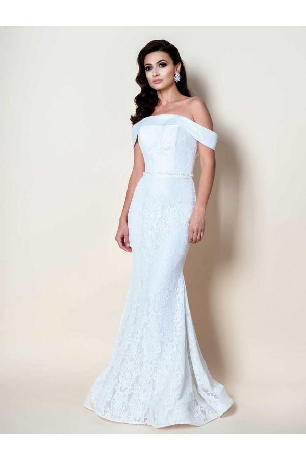 Дизайнерска рокля Мелисандра, подходяща за абитуренти, сватби и булки.