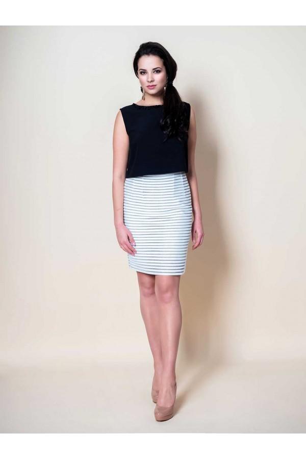 Дизайнерска елегантна рокля Виктоар, подходяща за парти, рожден ден, сватба и други поводи