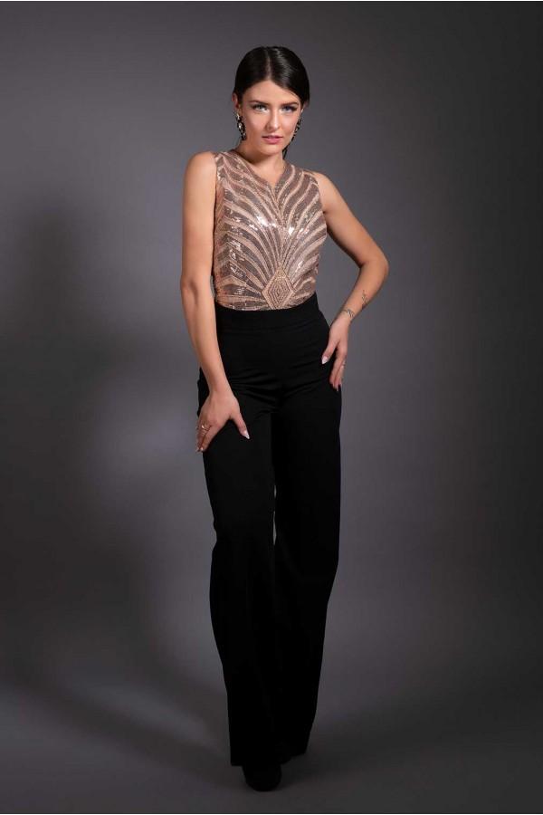 Дизайнерски гащеризон Miss Bond, подходящ за абитуренти, сватби, кръщенета и изпращания.